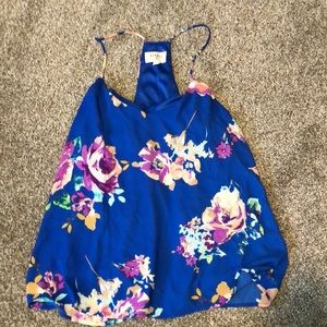 Everly Floral Tank.